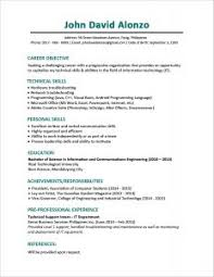Best Example Of Resume by Examples Of Resumes 89 Enchanting Professional Resume Formats