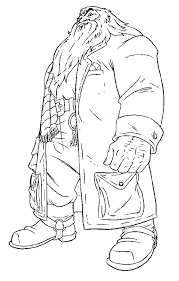 big men with harry potter coloring pages color online free