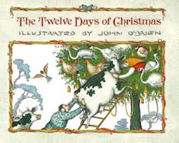 artwork covers o brien twelve days of book cover