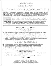 Sle Cover Letter For Maintenance Facilities Maintenance Manager Cover Letter Education And Career