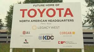 headquater toyota new plano toyota headquarters expected to open 1 000 jobs locally