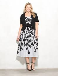 Dress Barn Black And White Dress Plus Size Casual Dresses U0026 Day Dresses Dressbarn