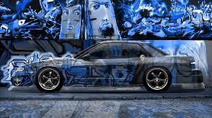 jdm nissan silvia s13 nissan silvia s13 jdm crystal graffiti car 2014 el tony