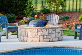Fire Pit With Water Feature - evolution 360 fire and water feature hearth products controls co
