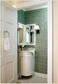 Mid Century Corner Cabinet Bathroom Furniture Solid Wood Dark Brown Freestanding Metal Mid