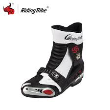 white motorbike boots online buy wholesale black motorcycle shoes from china black