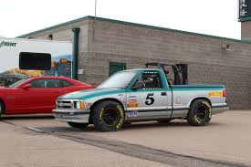 this chevy s 10 truck turned race car is awesome and loud video