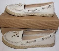 ugg s chivon shoes ugg s chivon nubuck espadrille shoes blank canvas with