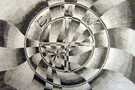 shattered drawings inspired by cubism u2013 art room online