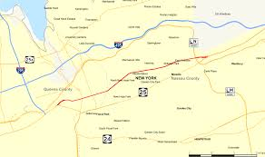 Map Of Queens New York by New York State Route 25b Wikipedia