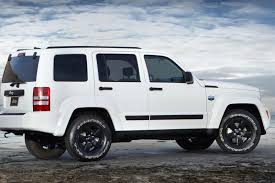 custom jeep white jeep liberty arctic special edition photos and details autotribute