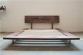 perfect platform bed no box spring with bed frame without box