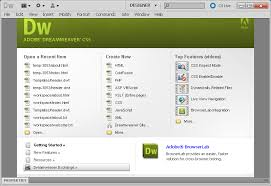 configure xp dreamweaver xp sp3 fr internet explorer 7 et windows media 11 integre