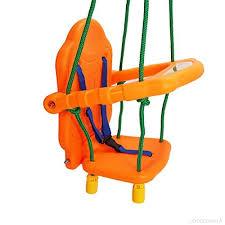 siege balancoire enfant siège chaise pour enfant bébé 1 3 ans avec dossier et ceinture