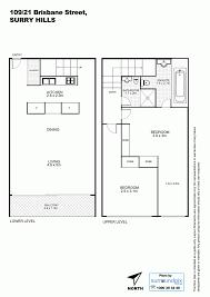 Floor Plans Brisbane 109 21 Brisbane Street Surry Hills Nsw 2010 Sold