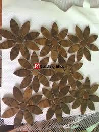 3d metal mosaic wall tile backsplash smmt080 antiqued copper