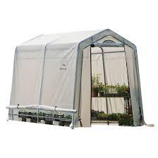 8 X 12 Greenhouse Kits Greenhouses Shelterlogic Corp Shade Shelter And Storage