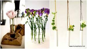 10 diy unique test tube flower vases