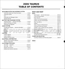 28 2006 ford taurus owners manual 126468 2006 ford taurus