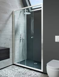 Shower Door Parts Uk by Edge Single Slider Shower Door In Framed Luxury Bathrooms Uk