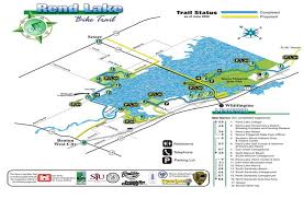 Wayne State Map Maps Of Campgrounds Trails And Other Location On Rend Lake