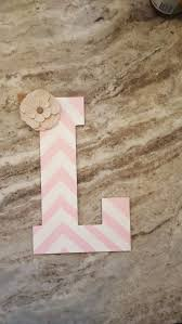 Letter L Home Decor by 75 Best Nursery Letters Images On Pinterest Nursery Letters