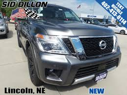 nissan armada 2017 trunk space new 2017 nissan armada platinum suv in lincoln 4n171103 sid