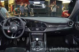 alfa romeo giulia interior alfa romeo giulia dashboard at the iaa 2015 indian autos blog