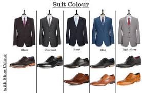 light gray suit brown shoes match your suit and shoes perfectly with this cheat sheet