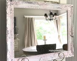 shabby chic mirror large mirror bathroom mirror vanity