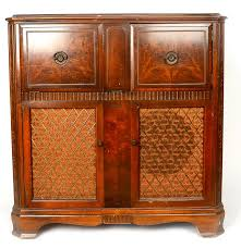 Rca Victrola Record Player Cabinet 1946 Rca Victor Victrola Stereo Cabinet Ebth