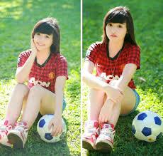 bong dep cho nu aobongda uploads photo hot girl mac ao bong da 1