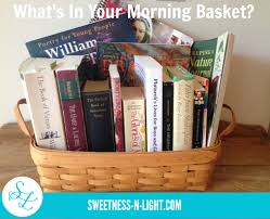 what u0027s in your morning basket homeschool morning time and more