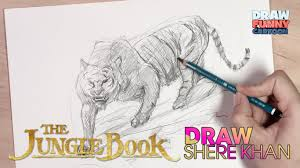 draw shere khan jungle book
