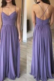 light purple long dress light purple chiffon simple long evening dress v neck open back