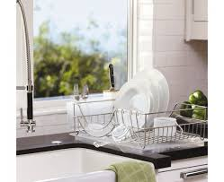 Kitchen Dish Rack Ideas Awesome Dish Drying Rack In Sink On Counter Or Expandable The