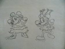 mickey mouse drawing ebay