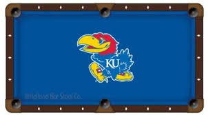 Custom Cloth Pool Table Cover Ku Pool Table Cloth And Cover Kansas Jayhawks