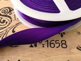 satin bias purple bias binding 3 4 wide satin trim blankets quilts craft corsets