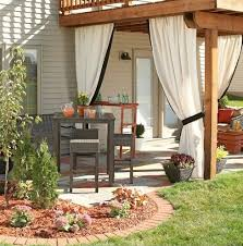 Outdoor Privacy Curtains 13 Attractive Ways To Add Privacy To Your Yard Deck With Pictures