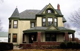 victorian house color schemes exterior roof victorian style house