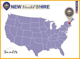 New Hampshire State Map by Notebooking Across The Usa New Hampshire Ben And Me