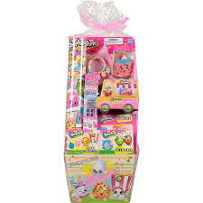 filled easter baskets frankford shopkins toys and candy filled easter basket walmart