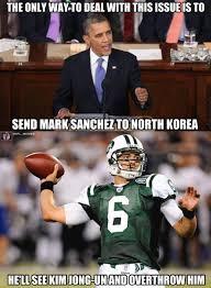 Mark Sanchez Memes - a solution at last mark sanchez meme and nfl memes