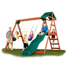 backyard swing and slide sets backyard
