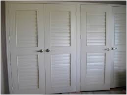 Closet Doors Louvered Louvered Closet Doors White Home Decor By Reisa