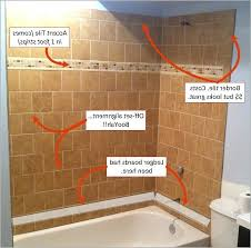 How To Install Bathroom Tiles In A Shower How To Tile A Shower Wall Tile Shower Walls To Ceiling It Guide Me