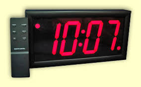 lighted digital wall clock digital clocks with bright led s lighted electric diodes 110 volt