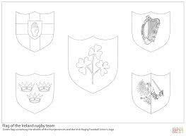 football printable coloring pages ireland rugby team flag coloring page free printable coloring pages