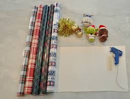 wars wrapping paper how to diy wars wrapping paper wreath hallmark a thrifty
